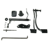 1967-1968 Camaro Big Block Clutch Linkage Auto to Manual Conversion Kit (with Headers)