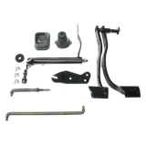 1968 Nova Small Block Manual Conversion Kit (with Headers)