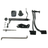1969 Camaro Small Block Clutch Linkage Auto to Manual Conversion Kit (with Headers)