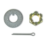 1967-1969 Camaro Disc Brake Bearing Nut And Washer Kit