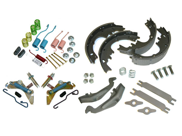 1964 1977 Chevelle Rear Drum Brake Rebuild Kit Complete