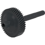 Transmission Speedometer Drive Gear, TH350 / TH400, Black 40 Tooth