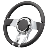Flaming River Chevelle WaterFall Steering Wheel, Slate Grey
