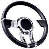 Flaming River Camaro WaterFall Steering Wheel, Black