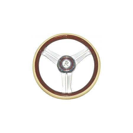 Flaming River Chevelle Navigator Steering Wheel Tan