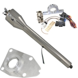 1964-66 El Camino Tilt Steering Column Kit, Polished Column