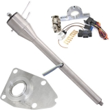 1964-66 El Camino Tilt Steering Column Kit, Paintable Column