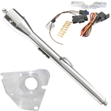 1967-68 El Camino Tilt Steering Column Kit, Polished Column