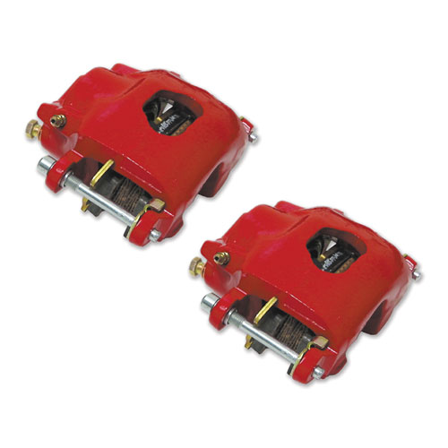 1969-1972 El Camino Powder Coated Calipers, Red