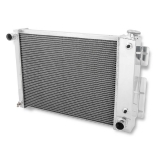1967-1969 Camaro V8 350-396-400-427 Frostbite Aluminum Radiator, 26 in. 4 Row, for 20-3-4 In. Wide Core