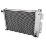 1967-1969 Camaro V8 350-396-400-427 Frostbite Aluminum Radiator, 27-1-2 in. 2 Row, for 23 In. Wide Core