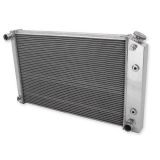 1970-1981 Camaro V8 Frostbite Aluminum Radiator, 2 Row, for 26 In. Wide Core: FB162