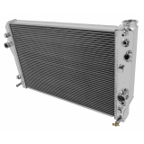 1998-1999 Camaro Frostbite Aluminum Radiator, 2 Row, for V6-V8: FB185