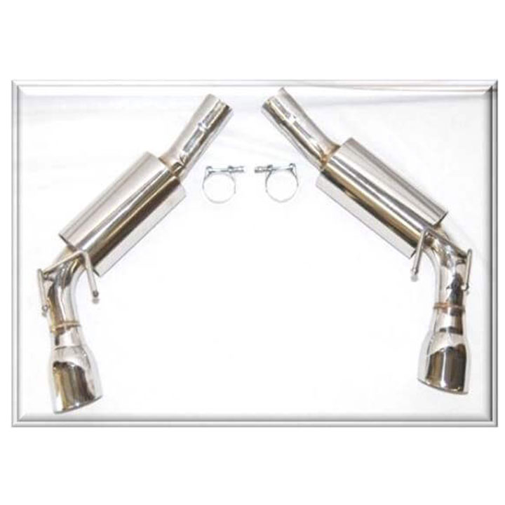 2010-2015 Camaro Flowtech 2.5 In. Axle-Back Exhaust Kit with Mufflers,  6.2L SS: 51600FLT
