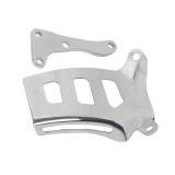1976-1986 Chevy Nova Small Block Chrome Upper Alternator Bracket Long Water Pump Modern Style