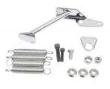 Chevy Chrome Holley Carburetor Throttle Return Kit