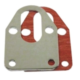 Chevy Small Block Chrome Fuel Pump mounting Plate