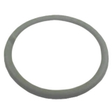 Replacement Grey Leather Steering Wheel Wrap For 14 Steering Wheel