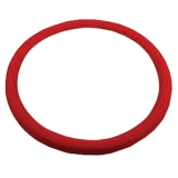 Replacement Red Leather Steering Wheel Wrap For 14 Steering Wheel