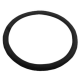 Replacement Black Leather Steering Wheel Wrap For 14 Steering Wheel