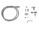 Chevy NovaStainless Steel TH350 Kickdown Cable Assembly