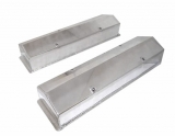 1967-1992 Chevy Camaro Small Block Fabricated Valve Covers, Polished