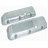 1967-1985 Chevy Camaro Big Block Polished Aluminum Valve Covers Stock Height