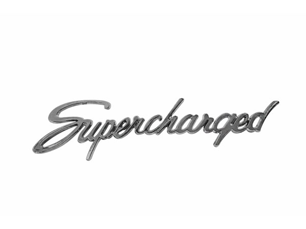 chevy chevelle supercharged emblem