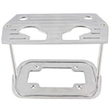 Chevy Nova Ball Milled Billet Aluminum Battery Tray For Optima Group 34/78 Top/Side Post Batteries