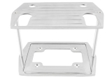 1964-1977 Chevy Chevelle Polished Billet Aluminum Battery Tray For Optima Group 75/25 Top/Side Post Batteries