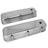 1967-1992 Chevy Camaro Big Block Polished Aluminum Ball Milled Valve Covers Tall Height
