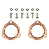 Chevy Copper Header Collector Gaskets, 2.5 Inch