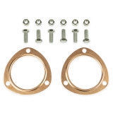 Chevy Copper Header Collector Gaskets, 3 Inch