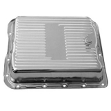 1962-1979 Chevy Nova TH700-R4 Chrome Transmission Pan Stock Depth