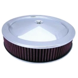1967-1981 Chevy Camaro 14 Inch Air Cleaner Assembly Stainless Steel Drop Base