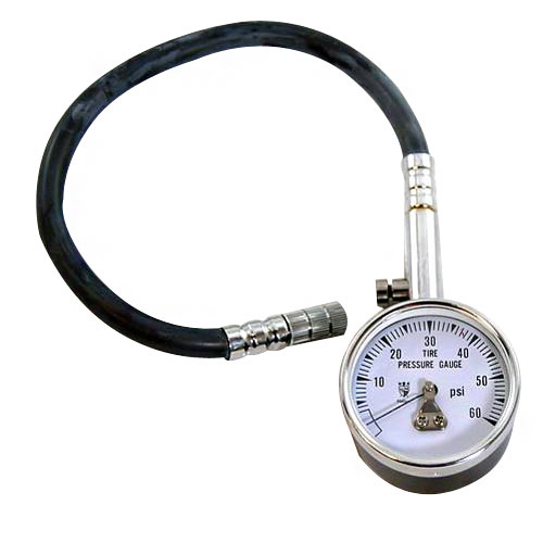 1964-1977 Chevy Chevelle Tire Pressure Gauge, 0-60 PSI