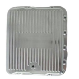 Chevy El Camino TH700-R4 Polished Finned Transmission Pan Stock Depth