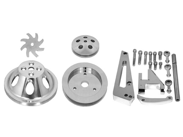 1964-1968 Chevy Chevelle Big Block Single Groove Water Pump Pulley And  Bracket Kit For Short Pump