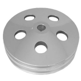 1967-1981 Chevy Camaro Billet Power Steering Pulley Double Groove Polished Finish