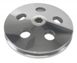 1967-1981 Chevy Camaro Billet Power Steering Pulley Single Groove Polished Finish