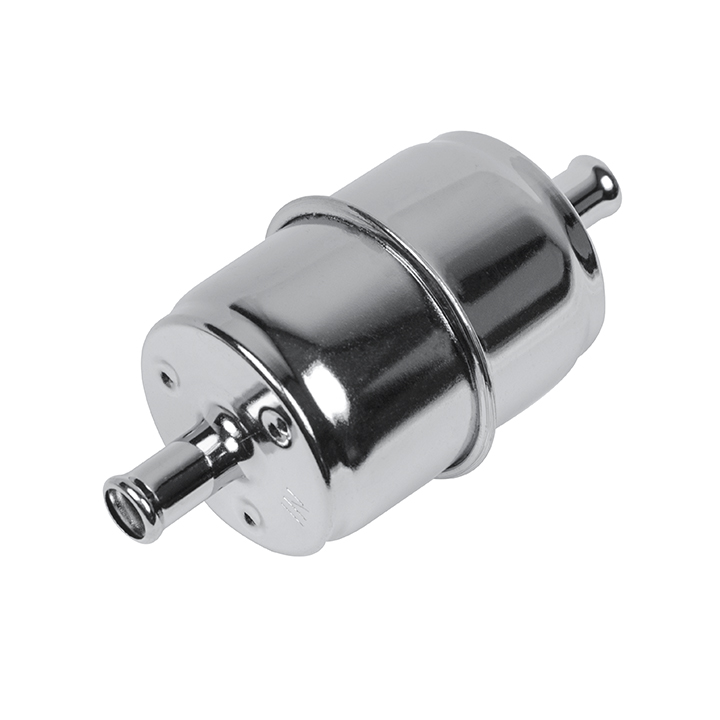1967-1981 Chevy Camaro Chrome Fuel Filter With High Flow Paper Element