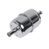 Chevy Chrome Fuel Filter With High Flow Paper Element