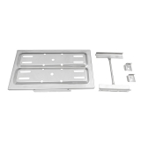 Chevy Nova Stainless Steel Battery Tray With Hold Downs