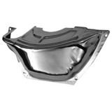 Chevy El Camino Powerglide Chrome Flywheel Inspection Cover