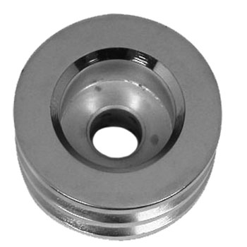 1964-1977 Chevy Chevelle Chrome Alternator Pulley 2 Groove