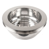 Chevy Small Block Crank Pulley Single Groove Polished Aluminum For Long Pump