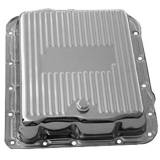 1962-1979 Chevy Nova TH700-R4 Chrome Finned Transmission Pan Stock Depth