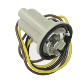 1969-1972 Chevrolet Dual Element Tail Lamp Socket 3 Wire