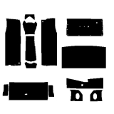 1964-1967 El Camino Quietride AcoustiShield Complete Kit