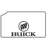 1978-88 Buick Regal Trunk Rubber Floor Mat - Buick Logo